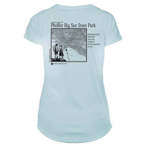 Pfeiffer State Park Great Trails Microfiber Women's T-Shirt
