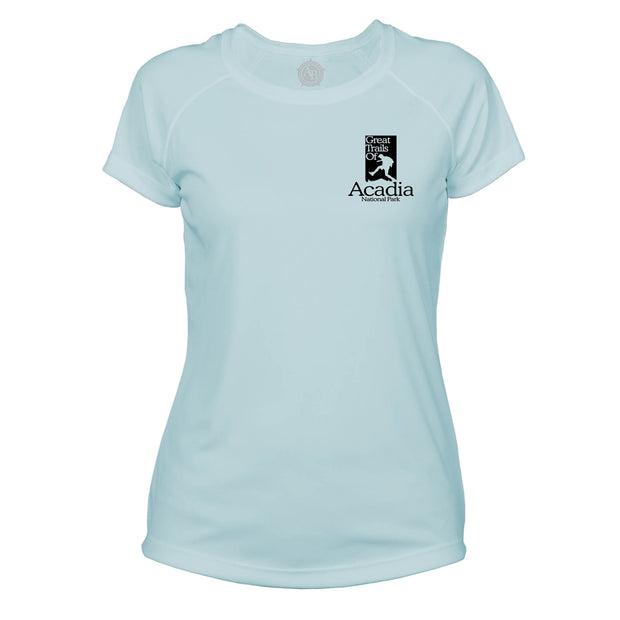 Acadia National Park Great Trails Microfiber Women's T-Shirt