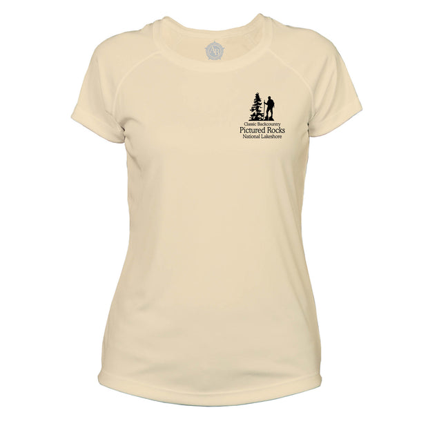 Pictured Rocks Classic Backcountry Microfiber Women's T-Shirt