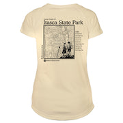 Itasca State Park Great Trails Microfiber Women's T-Shirt