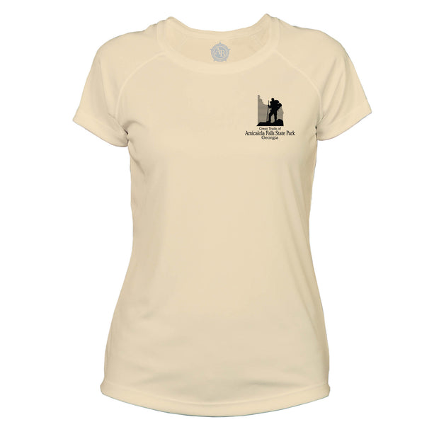 Amicalola Falls Great Trails Microfiber Women's T-Shirt
