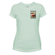 Boundary Waters Vintage Destinations Microfiber Women's T-Shirt