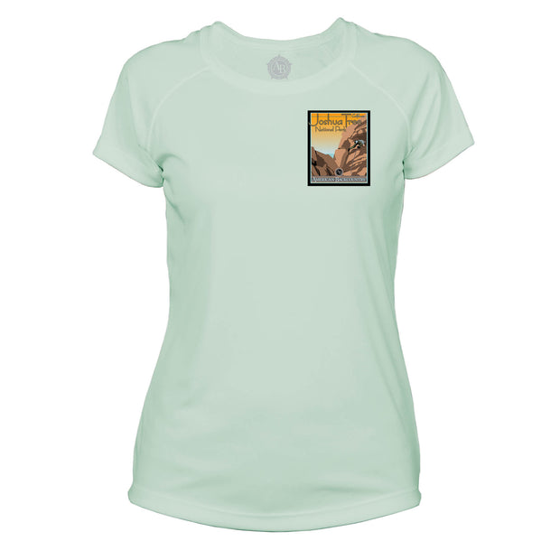 Joshua Tree Vintage Destinations Microfiber Women's T-Shirt