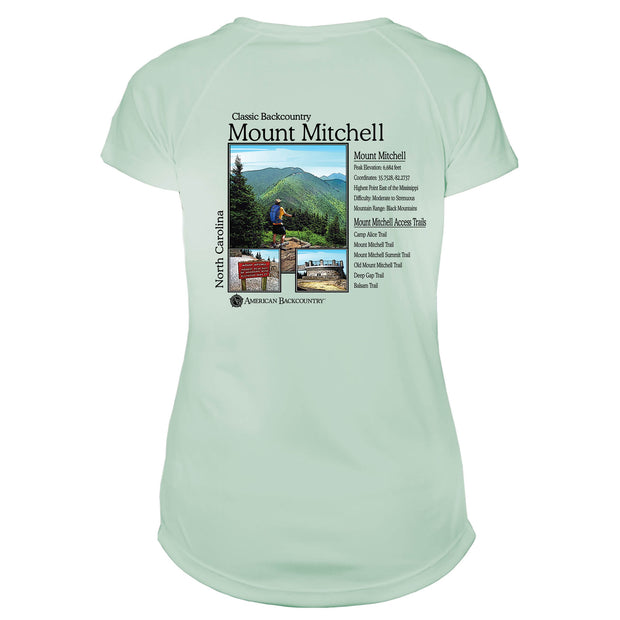 Mount Mitchell Classic Backcountry Microfiber Women's T-Shirt
