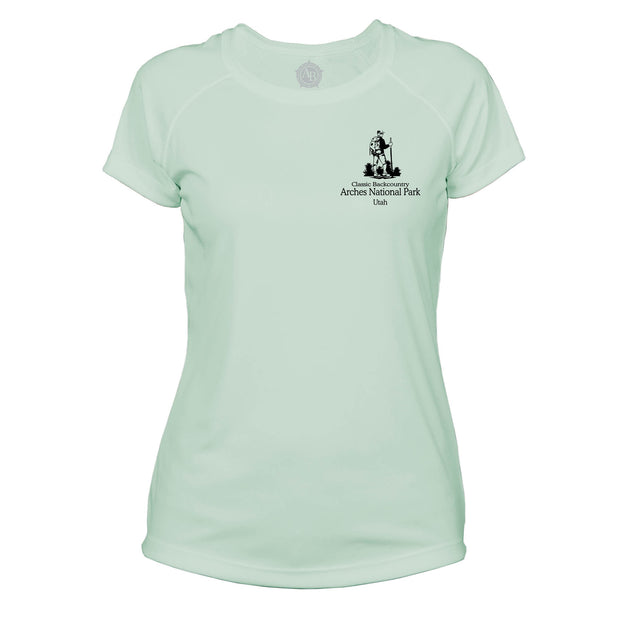 Arches National Park Classic Backcountry Microfiber Women's T-Shirt