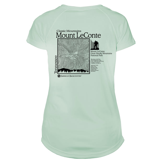 Mount Leconte Classic Mountain Microfiber Women's T-Shirt