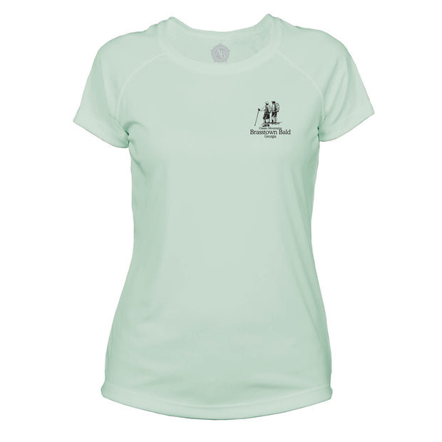 Brasstown Bald Classic Mountain Microfiber Women's T-Shirt