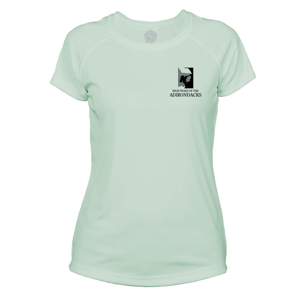 Adirondacks Diamond Topo Microfiber Women's T-Shirt