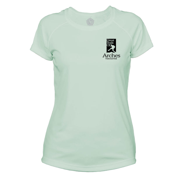 Arches National Park Great Trails Microfiber Women's T-Shirt