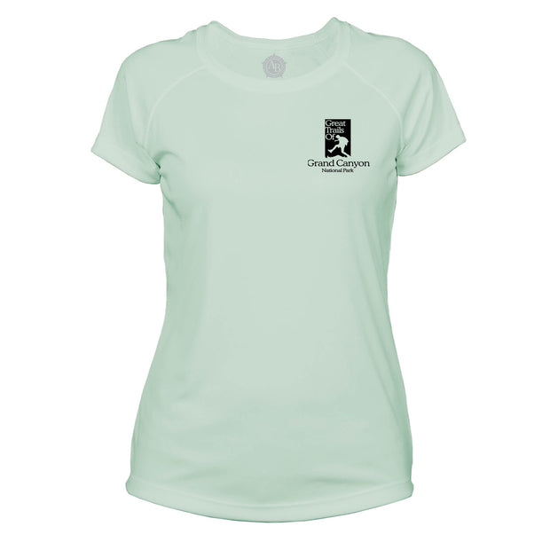 Grand Canyon National Park Great Trails Microfiber Women's T-Shirt