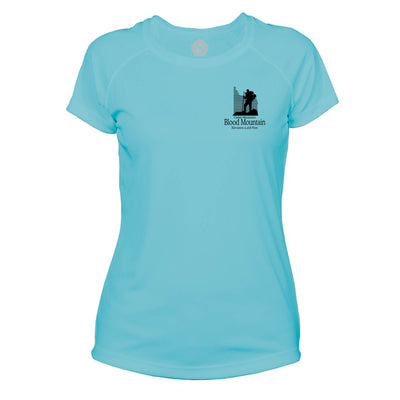 Blood Mountain Classic Mountain Microfiber Women's T-Shirt