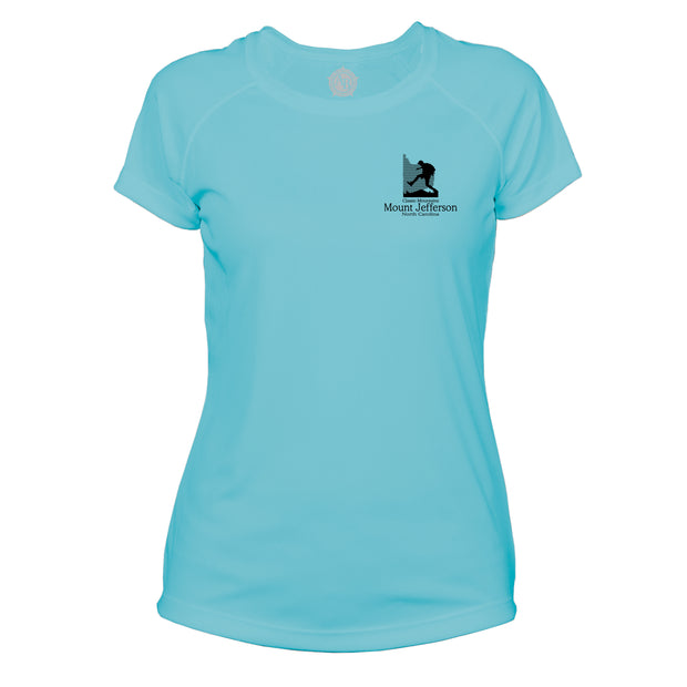 Mount Jefferson Classic Mountain Microfiber Women's T-Shirt