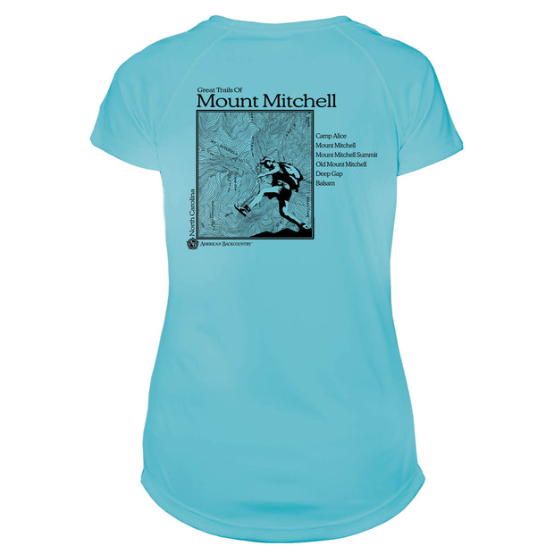 Mount Mitchell Great Trails Microfiber Women's T-Shirt