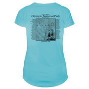 Great Trails Olympic National Park Microfiber Women's T-Shirt