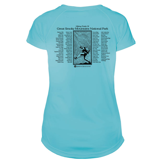 Smoky Mountain National Park Great Trails Microfiber Women's T-Shirt