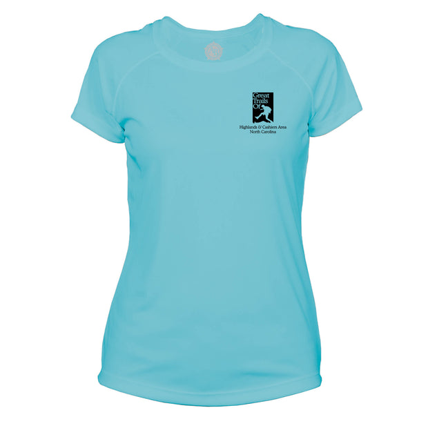 Highlands Cashiers Great Trails  Microfiber Women's T-Shirt