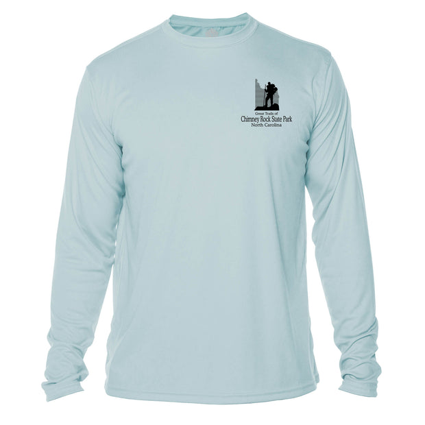 Chimney Rock Great Trails Long Sleeve Microfiber Men's T-Shirt
