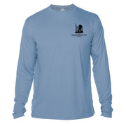 Amicalola Falls Great Trails Long Sleeve Microfiber Men's T-Shirt