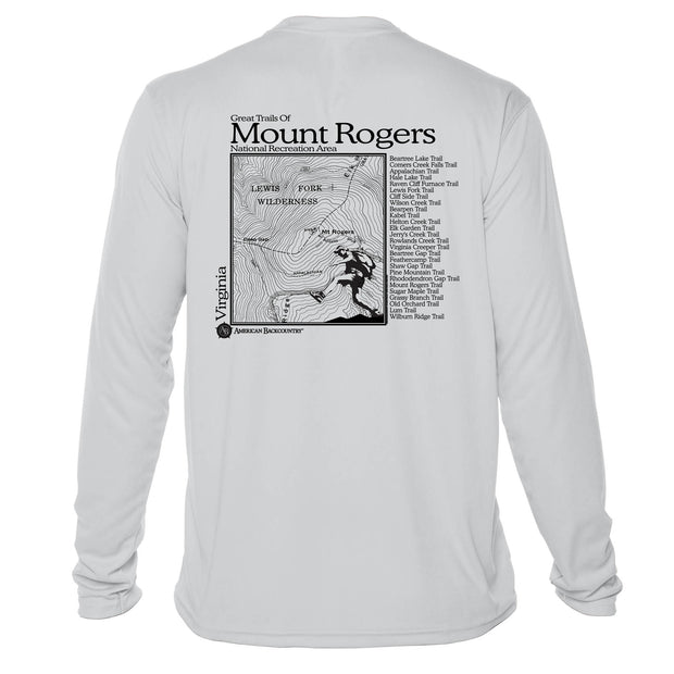 Mount Rogers Great Trails Long Sleeve Microfiber Men's T-Shirt