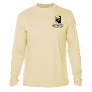 Diamond Topo Olympic National Park Long Sleeve Microfiber Men's T-Shirt