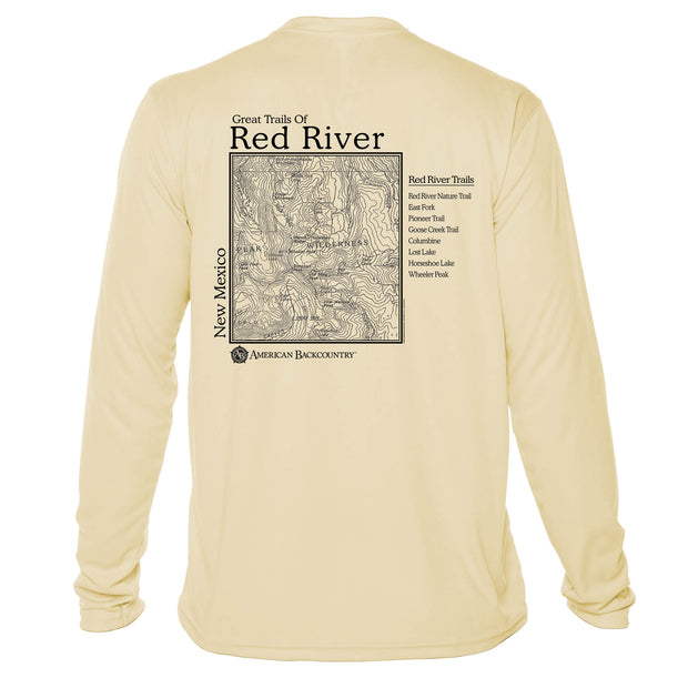 Red River Great Trails Long Sleeve Microfiber Men's T-Shirt