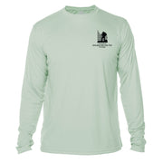 Amicalola Falls Great Trails Long Sleeve Microfiber Women's T-Shirt