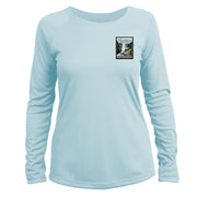 Yellowstone National Park Vintage Destinations Long Sleeve Microfiber Women's T-Shirt