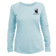 Adirondacks Diamond Topo Long Sleeve Microfiber Women's T-Shirt