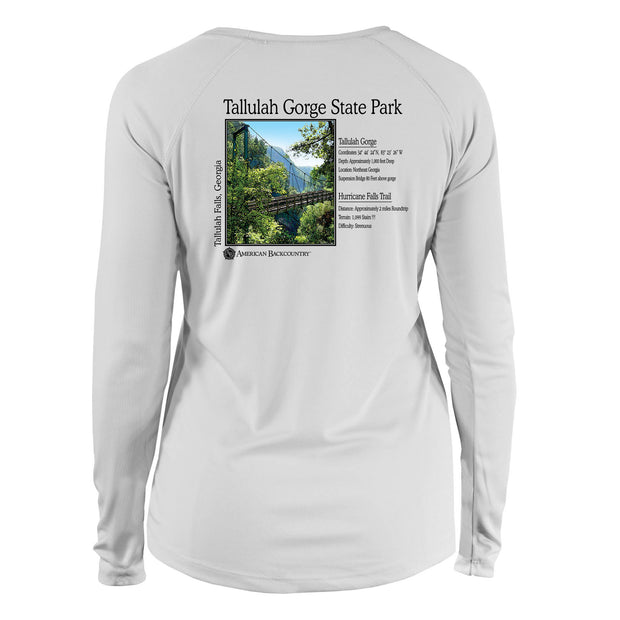 Tallulah Gorge Classic Backcountry Long Sleeve Microfiber Women's T-Shirt