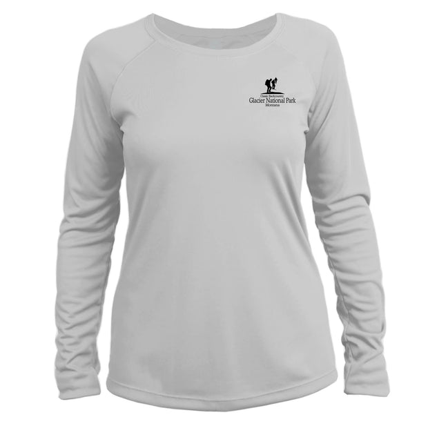 Glacier National Park Classic Backcountry Long Sleeve Microfiber Women's T-Shirt