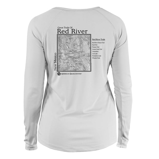 Red River Great Trails Long Sleeve Microfiber Women's T-Shirt