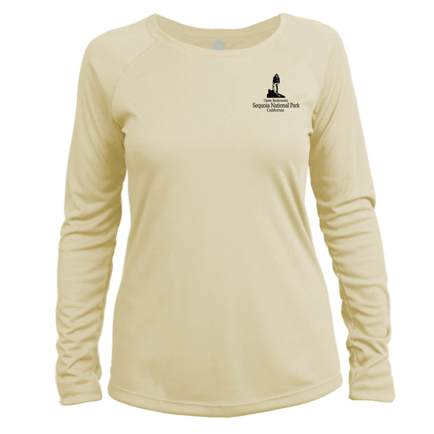 Sequoia National Park Classic Backcountry Long Sleeve Microfiber Women's T-Shirt