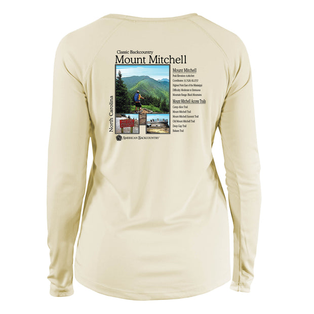 Mount Mitchell Classic Backcountry Long Sleeve Microfiber Women's T-Shirt