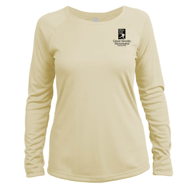Smoky Mountain National Park Great Trails Long Sleeve Microfiber Women's T-Shirt