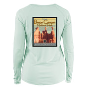 Bryce Canyon National Park Vintage Destinations Long Sleeve Microfiber Women's T-Shirt