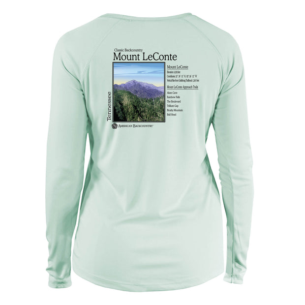 Mount Le Conte Classic Backcountry Long Sleeve Microfiber Women's T-Shirt