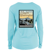 Mount Washington Vintage Destinations Long Sleeve Microfiber Women's T-Shirt
