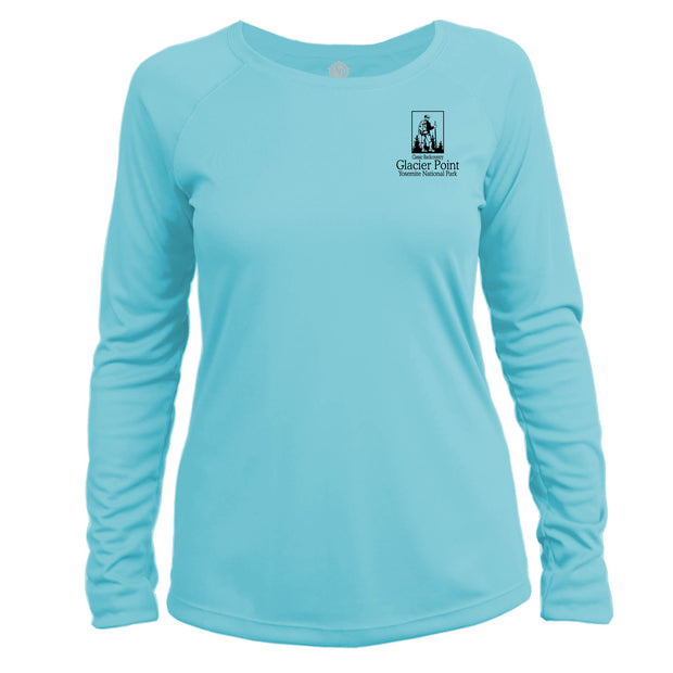 Glacier Point National Park Classic Backcountry Long Sleeve Microfiber Women's T-Shirt