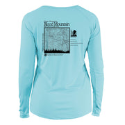Blood Mountain Classic Mountain Long Sleeve Microfiber Women's T-Shirt
