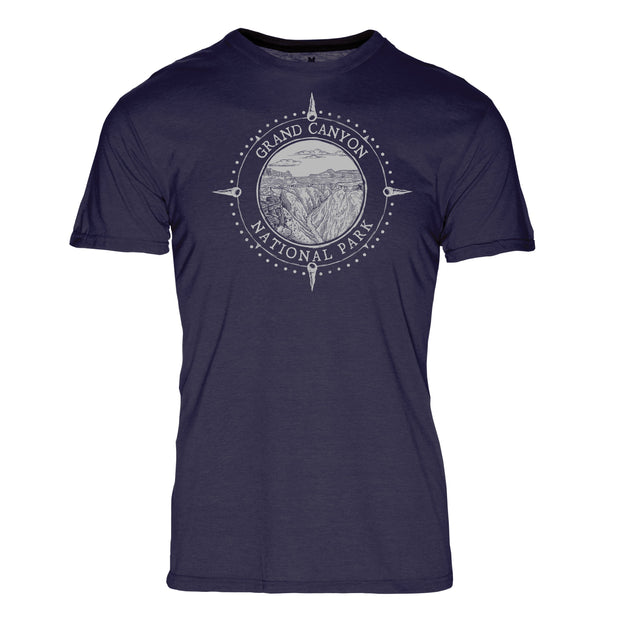 Minimalist Compass Grand Canyon National Park REPREVE® Crew T-Shirt