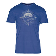 Minimalist Compass Hurricane Ridge Olympic National Park REPREVE® Crew T-Shirt