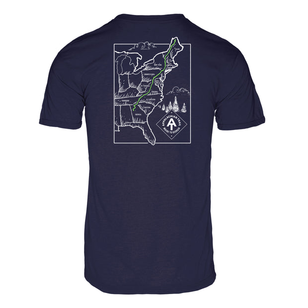 Appalachian Trail Men's REPREVE® Crew T-Shirt