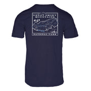 Great Smokey Mountain Nation Park Men's REPREVE® Crew T-Shirt