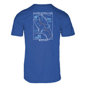 Glacier National Park Men's REPREVE® Crew T-Shirt