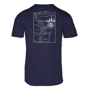 Continental Divide Trail Men's REPREVE® Crew T-Shirt