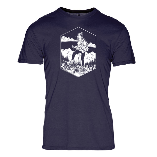 Pacific Crest Trail Women's REPREVE® Crew T-Shirt