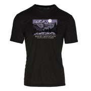 Night Sky Rocky Mountain National Park REPREVE® Crew T-Shirt