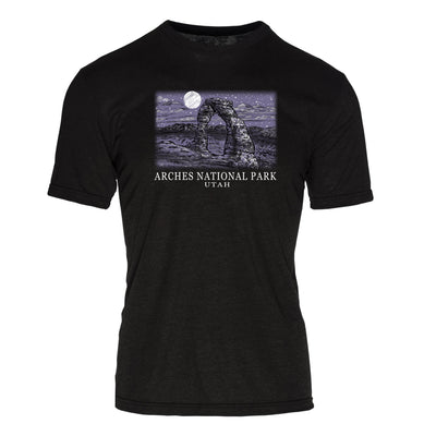 Night Sky Arches National Park REPREVE® Crew T-Shirt
