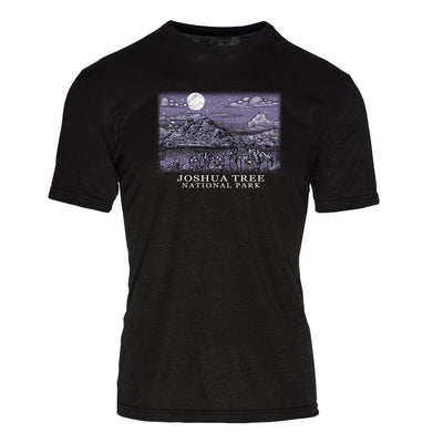 Night Sky Joshua Tree National Park REPREVE® Crew T-Shirt