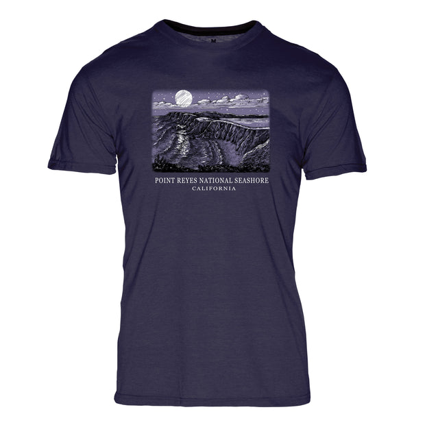 Night Sky Point Reyes National Seashore REPREVE® Crew T-Shirt